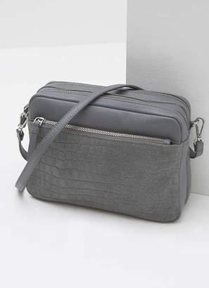 c3cbc82e5710 Mint Velvet Poppy Grey Suede Camera Bag
