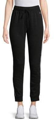 ASKYA French Terry Side-Stripe Joggers