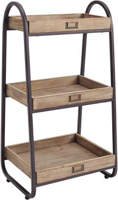 Linon 3-Tiered Bath Stand