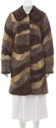 Jocelyn Rabbit Intarsia Coat