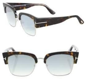 Tom Ford Dakota 55MM Soft Square Sunglasses
