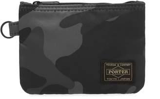 Head Porter Jungle Camo Zip Wallet