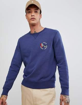Polo Ralph Lauren Cp-93 Capsule Sailboat Logo Sweatshirt In Navy