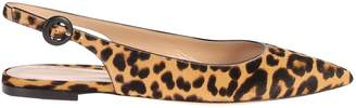 Gianvito Rossi Leopard Print Shoes