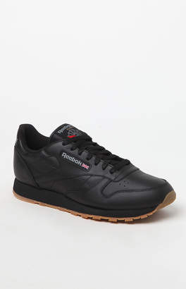 Reebok Classic Leather Black Shoes
