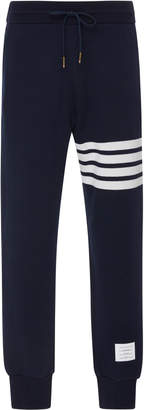 Thom Browne Striped Cotton-Blend Sweatpants