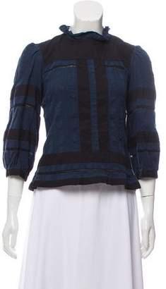 Etoile Isabel Marant Colorblock Long Sleeve Too