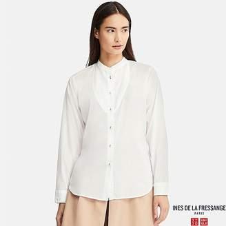 Uniqlo Women's Cotton Lawn Long-sleeve Shirt (ines De La Fressange)