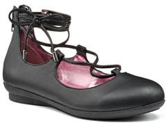 Candie's® Girls' Lace-Up Ballet Flats $44.99 thestylecure.com