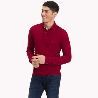 Tommy Hilfiger Long Sleeve Slim Fit Polo Shirt
