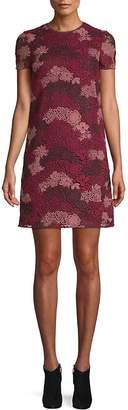 Burberry Women's Lian Floral Lace Shift Dress