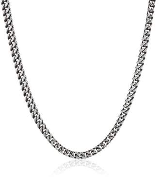 """Lavari - Stainless Steel Foxtail Chain Necklace BP 22"""""""