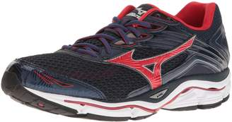 Mizuno Canada Men's Wave Enigma 6 Running Shoes, Dress Blue/Chinese Red/Silver