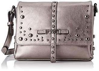 Le Temps Des Cerises Women's LTC5C4G Cross-Body Bag Grey