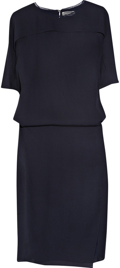 Reed Krakoff Paneled chiffon dress