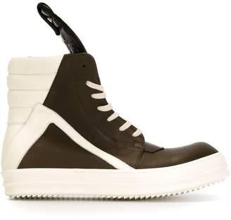 Rick Owens 'Geo Basket' hi-top sneakers