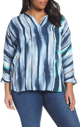 Nic+Zoe Sea Stripe Top