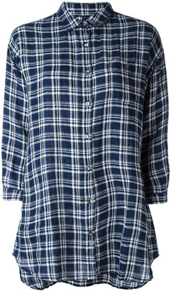 Woolrich checked shirt $143.53 thestylecure.com