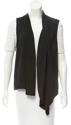 Victoria Beckham Draped Asymmetrical Vest