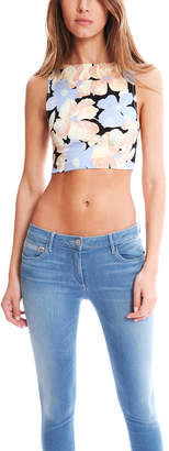 Suno Floral Crop Top