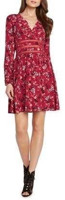 Willow & Clay Crochet Detail Faux Wrap Dress