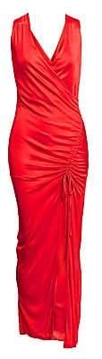 Each X Other Women's Side Slit Jersey Column Dress