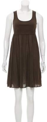 Eres Sleeveless Mini Dress Olive Sleeveless Mini Dress