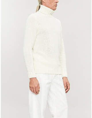 OSCAR JACOBSON Kristopher turtleneck wool-blend jumper