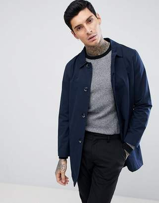 Harry Brown Plain Trench Slim Fit