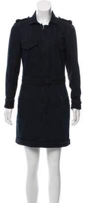 Isabel Marant Long Sleeve Denim Dress blue Long Sleeve Denim Dress