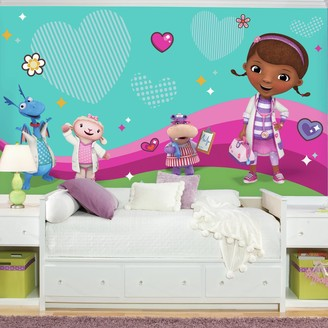 Mural Roommates Disney's Doc McStuffins & Friends Wall by RoomMates