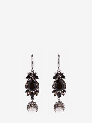 Alexander McQueen Jeweled Earrings