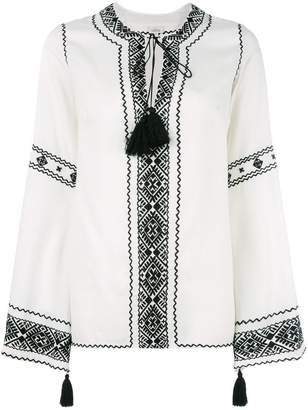 Talitha drawstring blouse