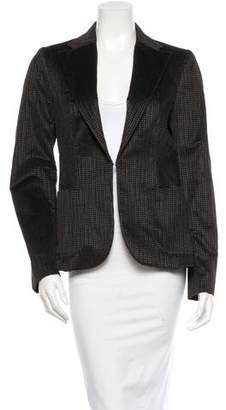 CNC Costume National Velvet Blazer