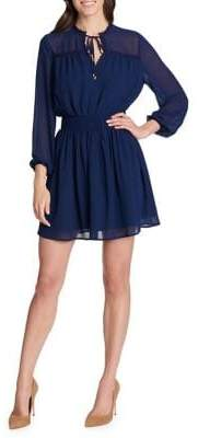 Kensie Dresses Three-Quarter Sleeve Fit-&-Flare Dress