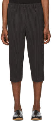 Issey Miyake Homme Plisse Black Pleats Bottom 3 Trousers