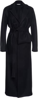 Jacquemus Aissa Pleated Wool-Blend Coat