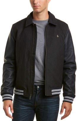 Original Penguin Wool-Blend Jacket