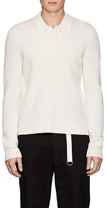 Helmut Lang Men's Wool Polo Sweater
