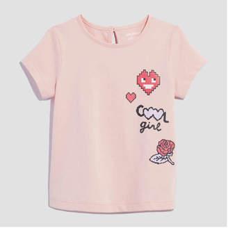Joe Fresh Baby Girls' Short Sleeve Graphic Tee