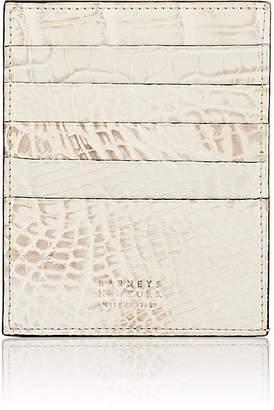 Barneys New York Men's Large Alligator Card Case