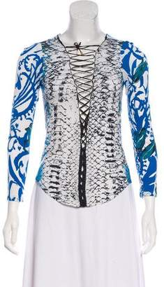 Emilio Pucci Jersey Long Sleeve Top