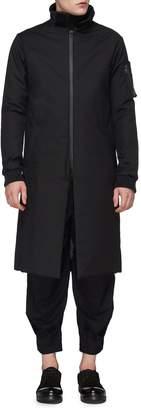 DEVOA Stand collar down coat