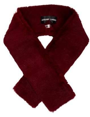 Adrienne Landau Dyed Fur Stole
