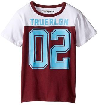 True Religion Kids Varsity T-Shirt (Toddler/Little Kids) $39 thestylecure.com