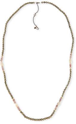 "Armenta Old World Pyrite, Corundum & Opal Necklace - 40"""