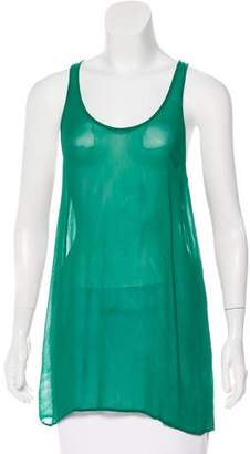 Etoile Isabel Marant Semi-Sheer Sleeveless Top