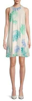Calvin Klein Floral-Print Sleeveless Mini Dress