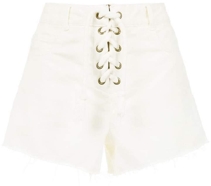 Nk lace-up shorts