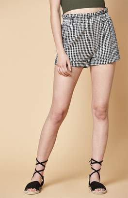 KENDALL + KYLIE Kendall & Kylie Smocked Waist Shorts